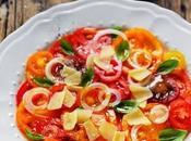 vous nous lâchiez grappe avec tomates bonnes sont arrivées petite salade quelques autres petites choses forcément