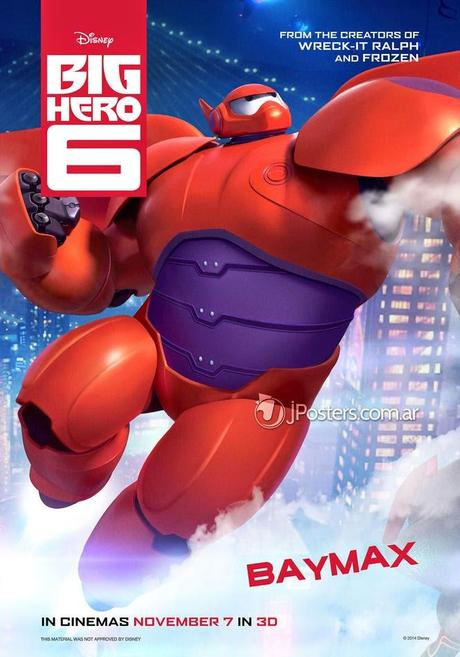 MOVIE | Big Hero 6 : Les héros du nouveau Disney/Marvel s'affichent !