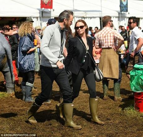 Stella McCartney assiste au festival de Glastonbury 2014