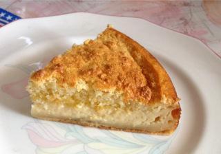 Gâteau-flan à la vanille