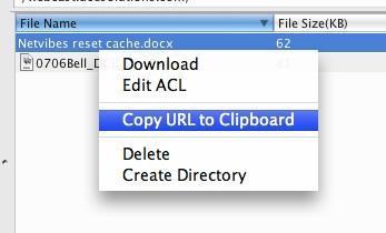 copy-url Comment transférer de gros fichiers à vos clients? (deuxième partie)