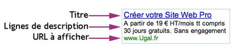 Exemple annonce Adsense