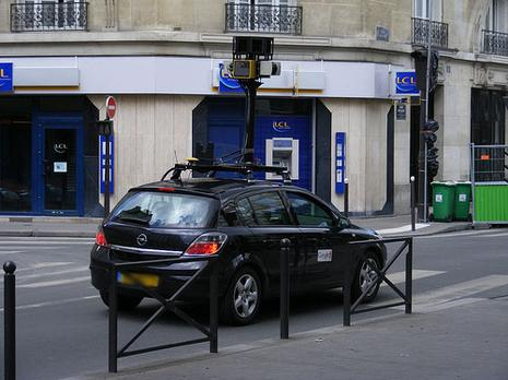 Google Street View ?? Paris
