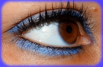 Make up du jour: Fresh and Blue avec Sleek et Biguine
