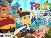 Fruit Ninja dans vraie