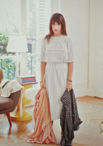 Quand Jeanne Damas joue les it-girls parisiennes