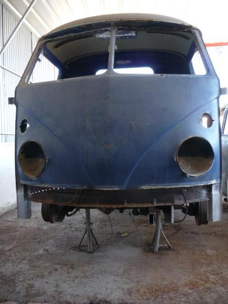 Combi Pick Up Split Volkswagen de 1965.