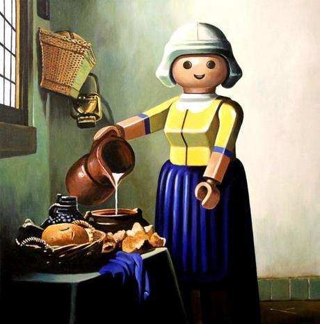 La Laitière, Vermeer