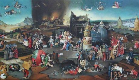 La Tentation de Saint-Antoine, Bosch