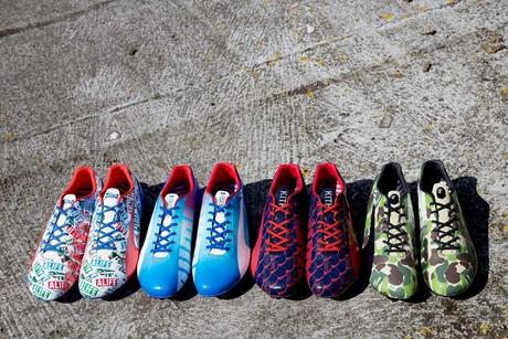 photo Puma collaboration evoSPEED Bape colette Kith Alife