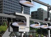 SkyTran télécabine ville
