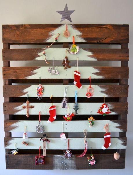 christmas tree pallets