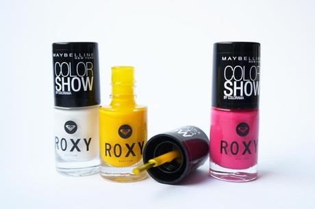 Vernis Roxy Gemey Maybelline Pop Surf - swatch test avis