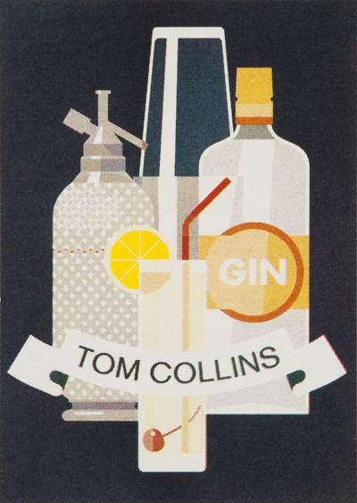 TOM COLLINS 4 cl dry gin 2 cl lemon juice 1 cl sugar syrup soda water