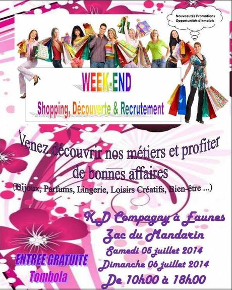 #Eaunes #VDI #salon #ventes #shopping #découverte #recrutement