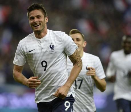 Olivier Giroud élu footballeur le plus sexy de la Coupe du monde