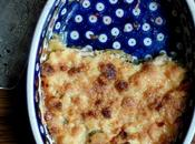 Crumble gingembre pomme rhubarbe