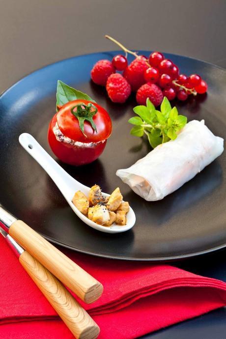 Filet de lapin sauce crémeuse au sumac, façon Korma