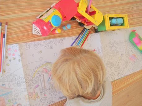 Sélection spécial Vacances : Les coloriages Géant