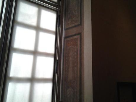 Restes des fresques de l'hôtel particulier © MAHJ / Je beurre ma tartine