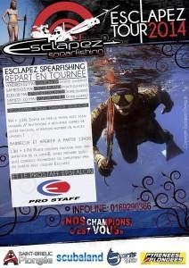 esclapez spearfishing tour 212x300 Esclapez Spearfishing : demain chez Sportsmed