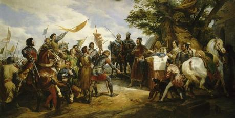 Bataille_de_Bouvines_ Horace Vernet 1789-1863