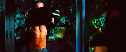 Gif RYan Gosling undressing