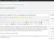 WordPress, delà cms, indicateur tendances