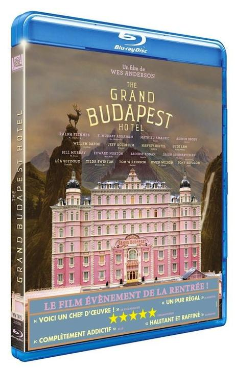 bluray the grand budapest hotel The Grand Budapest Hotel en DVD & Blu ray [Concours inside]