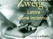 Lettre d'une inconnue Stefan Zweig