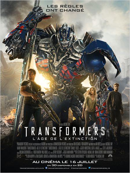 [critique] Transformers : L'Age De L'Extinction