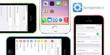 MAJ de Springtomize 3 sur iPhone Jailbreak iOS 7.1 à 7.1.2