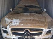 Mercedes Coule dans l'Océan
