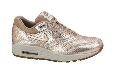 Nike-Air Max 1-Red-Bronze-Snake-Collection