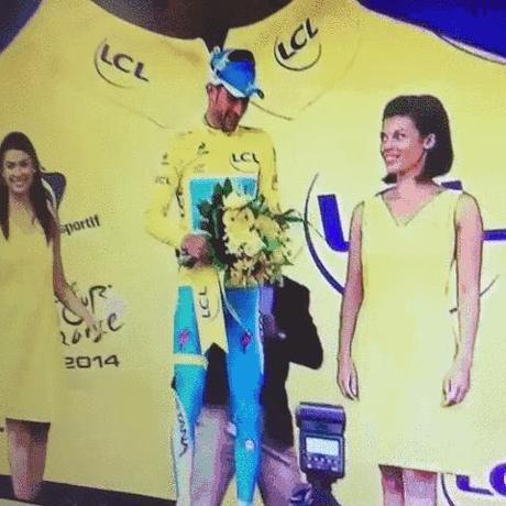 Pas de bisou pour Nibali au TDF