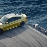 La BMW M4 drift sur un porte-avion américain