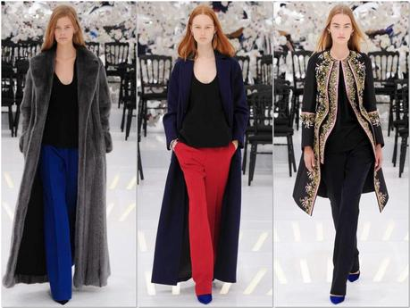 Casual, black, flowers and chic chez Dior...