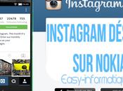 Instagram désormais Nokia