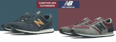 basket new balance comptoir des cotonniers