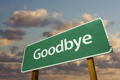 It's time to say goodbye !