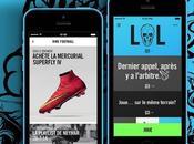 Nike lance application mobile dédiée football