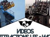 Vidéos attractions plus effrayantes monde
