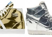 Sneakers-metallic-gold-silver