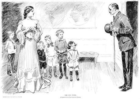 The-New-Pupil---1906-Gibson.jpg