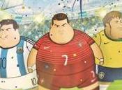 meilleurs joueurs Coupe Monde 2014 sont devenus obèses