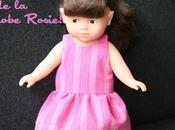 Dessinez patron robe Rosie pour n'importe quelle poupée