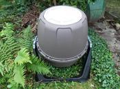 Composteur tambour basculant installation début test