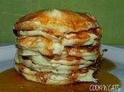 Pancakes banane-myrtilles