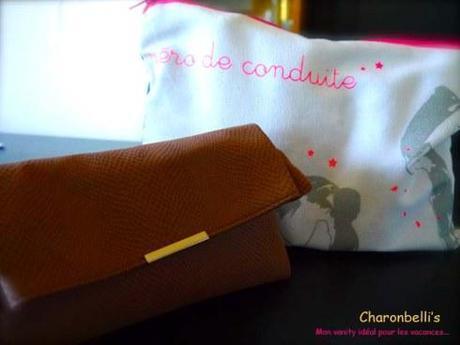 Mon vanity idéal pour les vacances - Charonbelli's blog beauté