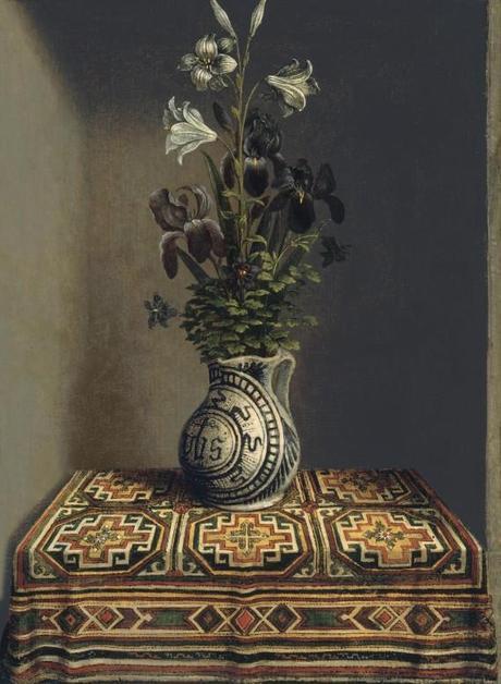 Hans Memling Fleurs dans un vase Museo Thyssen-Bornemisza